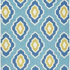 cool yellow and white outdoor rug navy and white woven rope rug
