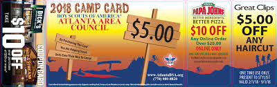 Boy Scout Medical Form Camp Cards 21