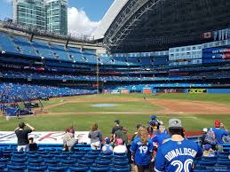 Rogers Centre Section 117 Toronto Blue Jays