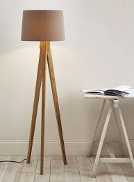 modern wood floor lamp with ideas for tripod the home redesign and schreiber hambledon