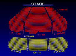 Marquis Theatre Broadway Seating Charts History Info