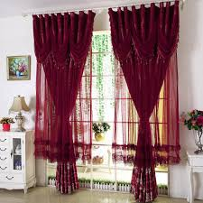 Red Bedroom Curtains Online Buy Wholesale Blue Red Curtains From China Blue Red