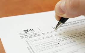 what is a w 9 tax form h r block
