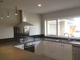Interior White Kitchen Backsplash Tile Connected By White Wooden