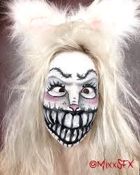 scary bunny makeup with snazaroo more face painting practice png 800x1000 bunny face painting scary