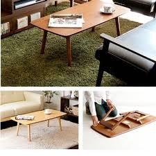 bn muji style foldable coffee table
