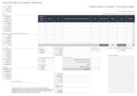 Bill Of Lading Free Form Blank Bill Of Lading For Auto Transport Free Form Pdf Fedex