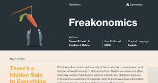 Freakonomics Chapter Summaries Course Hero