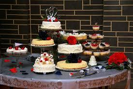 Cheesecake Display Stands JunkinJane Repurposed Glass = Cheesecake Wedding Cake 60