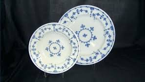 Blue And White China Pattern Simple 48 Rose China Dinner Plates Antique Patterns Blue And White My