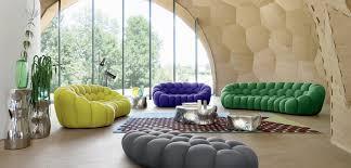 roche bobois floor cushion seating. BUBBLE CURVED 3-4 SEAT SOFA Roche Bobois Floor Cushion Seating