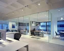 office desing. modern office design glass walled offices on window wall desing