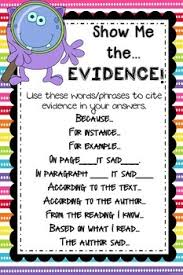 Evidence Text And Illustations Lessons Tes Teach