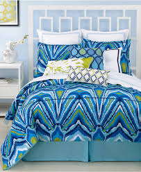 bedding trina turk blue peacock comforter and duvet cover sets dorm bedding blue abstract peacock