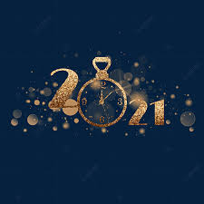 Horloge Créative Dorée Du Nouvel An 2021, 2021, Montre, D'or Fichier PNG et  PSD pour le téléchargement libre
