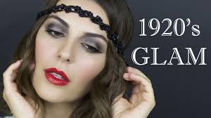 hair and makeup 1920 s flappernew tutorial gatsby 1920s flapper mice phan mice