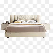 bed side view png. Simple White Double Bed, Bedside Cabinets, Bedroom Furniture PNG Image Bed Side View Png E