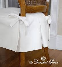 simple and elegant dining chair slip cover