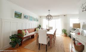 White Paint For Living Room Painting Simply White In The Dining Room Kitchen The Happy Housie