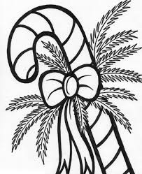 christmas candy cane coloring pages. Candy Cane Coloring Pages Pictures For Christmas