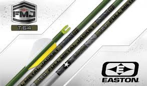 Easton Arrow Shaft Selection Chart Tapered Arrows Fmj Taper 64 Hunting Arrows Easton Archery