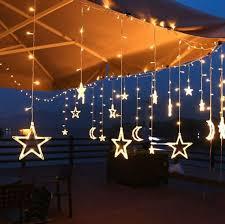 star moon fairy string curtain le