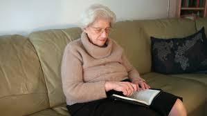 Hasil gambar untuk grandmother reading book