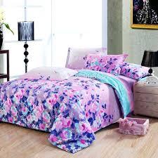 purple pink and blue bedroom modern bedroom with queen size pink aqua blue fl comforters coastal
