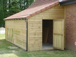 Charmant Extension Garage Toit Plat 10 Abris 1 Pente 4 Avec Plan Abri De Jardin Une Pente Garage B Ton Aspect Bois Abris En B