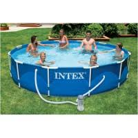 Бассейн каркасный <b>Intex Metal Frame</b> Pool 56996 <b>366х76</b> см ...