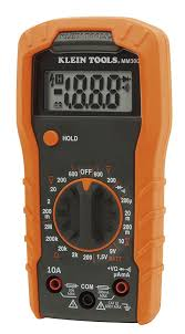klein tools mm300 manual ranging digital multimeter 600v