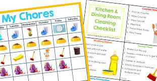 No More Nagging Chart Editable Chore Cards Chore Chart Bundle Chore Cards