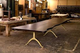 dining room table for 10 live edge table solid black walnut dining inside tables architecture oval