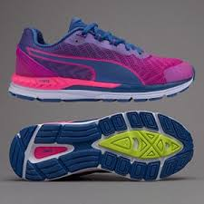 puma womens running shoes. puma womens speed 600 ignite v2 - true blue-ultra magenta running shoes 2