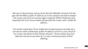 teltonika rut950 rut955 remote access with standard 3mobile sim uk