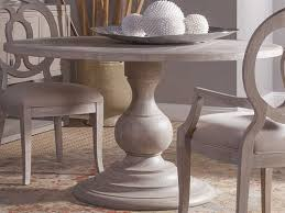 artistica home axiom bianco 54 wide round dining table ats2005870c40