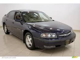 2000 Navy Blue Metallic Chevrolet Impala LS #16580625 | GTCarLot ...