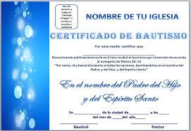 Certificado De Bautismo Template Mar De Vida Abundante Certificados De Bautismo Para Descargar