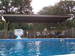cantilever patio metal carport awning patio cover swimming pool south bexar county
