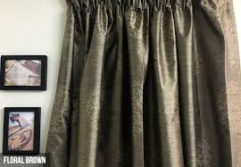 from 39 95 for 100 blockout thermal coated readymade curtains four designs available