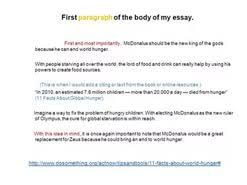argumentative essay world hunger  argumentative essay world hunger