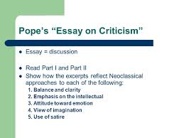 "alexander pope ppt video online  8 pope s ""essay"
