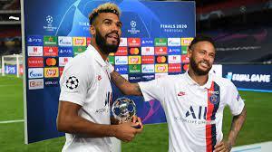 PSG: Neymar schenkt Choupo-Moting nach Sieg gegen Atalanta Trophäe -  Eurosport