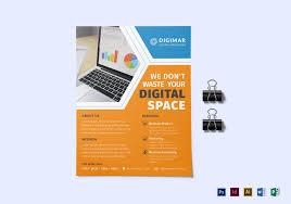Design Business Flyers Online 23 Digital Marketing Flyer Examples Templates Design