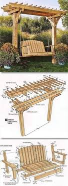 diy wood furniture projects. arbor swing plans my sonu0027s eagle scout project diy wood furniture projects p