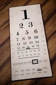 How Fun Is This Eye Chart Calendar From Antiquefarm