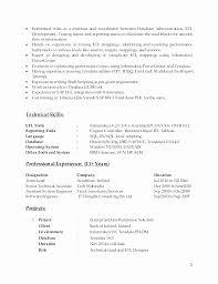 Excellent Teradata Etl Developer Resume Resume Design Custom Teradata Etl Developer Resume