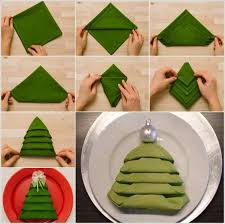 Best 25+ Christmas tree napkin fold ideas on Pinterest | Christmas ...