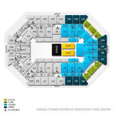 Tallahassee Civic Center Seating Chart Donald Tucker Center At Leon County Civic Center 2019