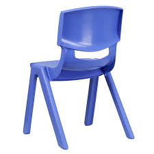 school chair back. Simple Back Ergonomic Home Blue Plastic Stackable School Chair With 155u0027u0027 Seat Height Inside Back
